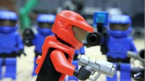 Battle of the Brick Built for Combat - The Movie