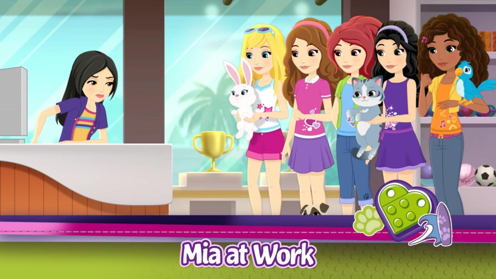 Mia At Work Lego Friends Wiki Fandom Powered By Wikia