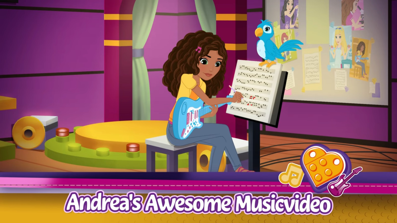 Andreas Friendship Song Lego Friends Wiki Fandom Powered By Wikia