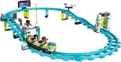 Amusement Park Roller Coaster 1