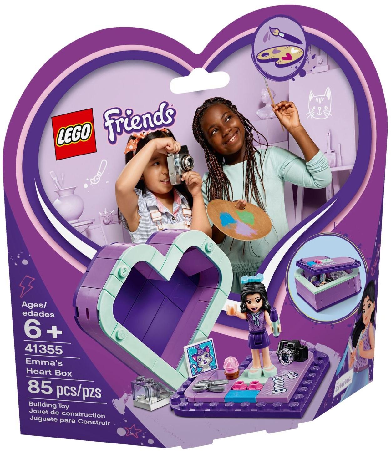 Emma's Heart Box (41355) | LEGO Friends Wiki | FANDOM