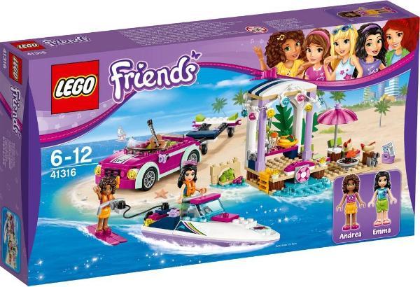 Andreas Speedboat Transporter 41316 Lego Friends Wiki Fandom