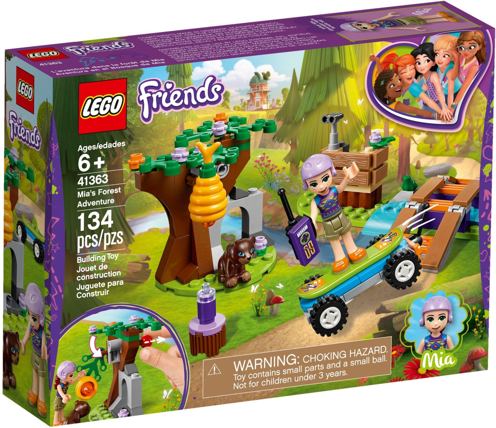 Mias Forest Adventure 41363 Lego Friends Wiki Fandom Powered