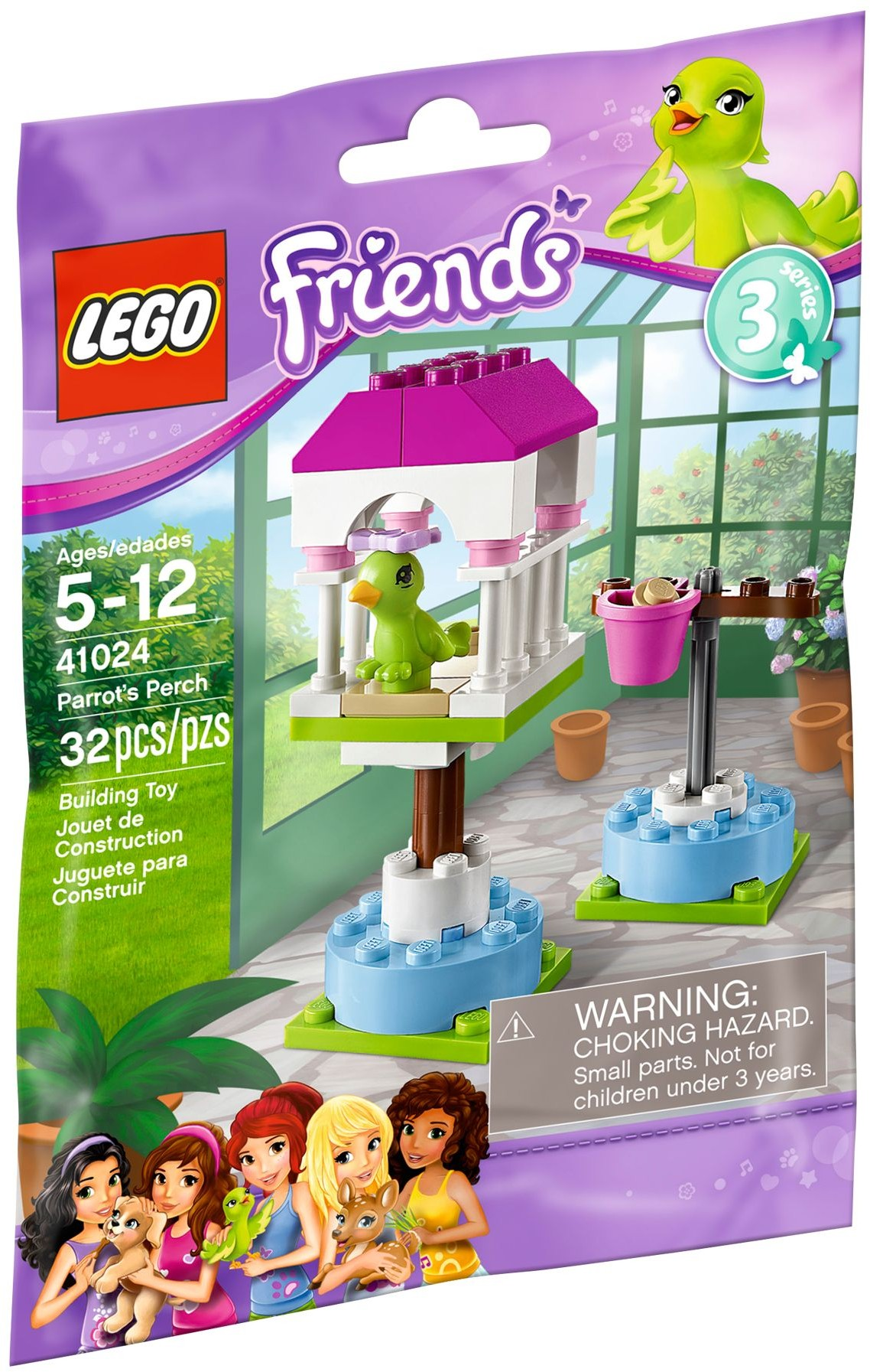 Parrot's Perch (41024)   LEGO Friends Wiki   FANDOM ...