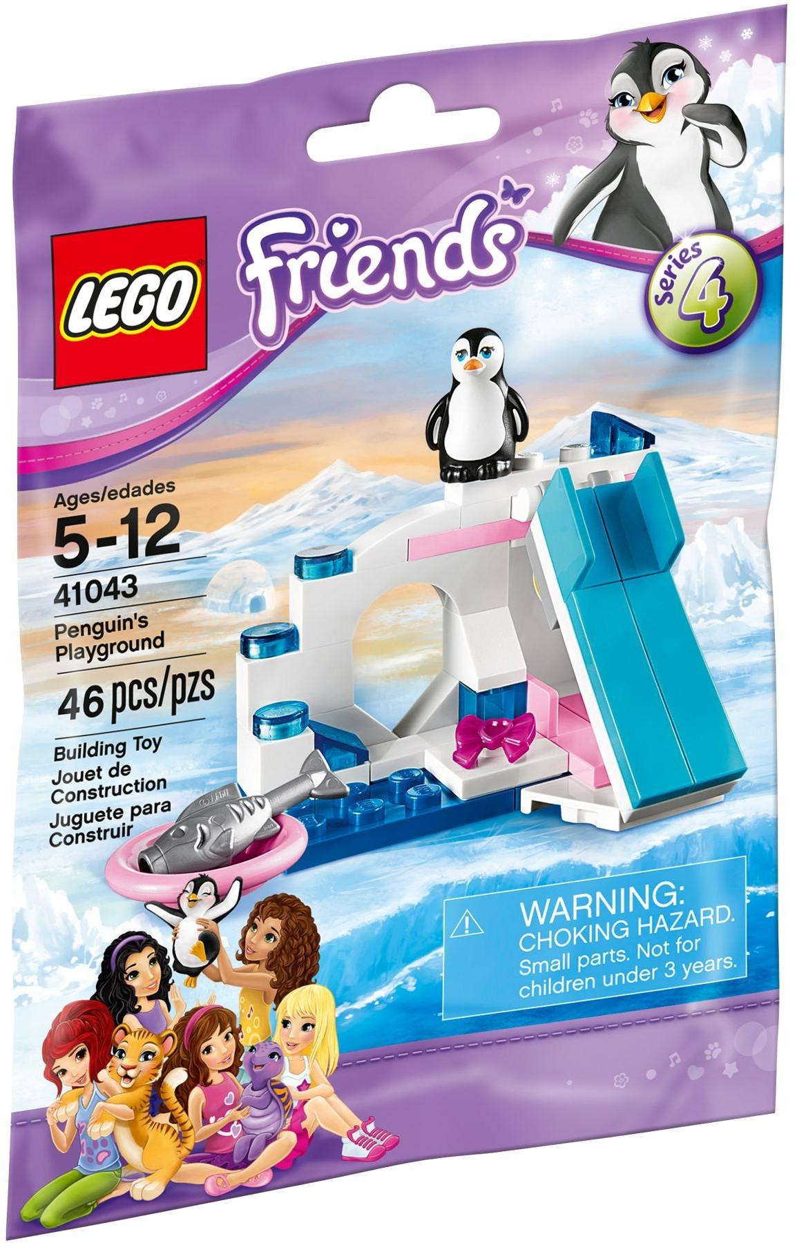 SERIES 4 FRIENDS Penguin/'s Playground LEGO 41043