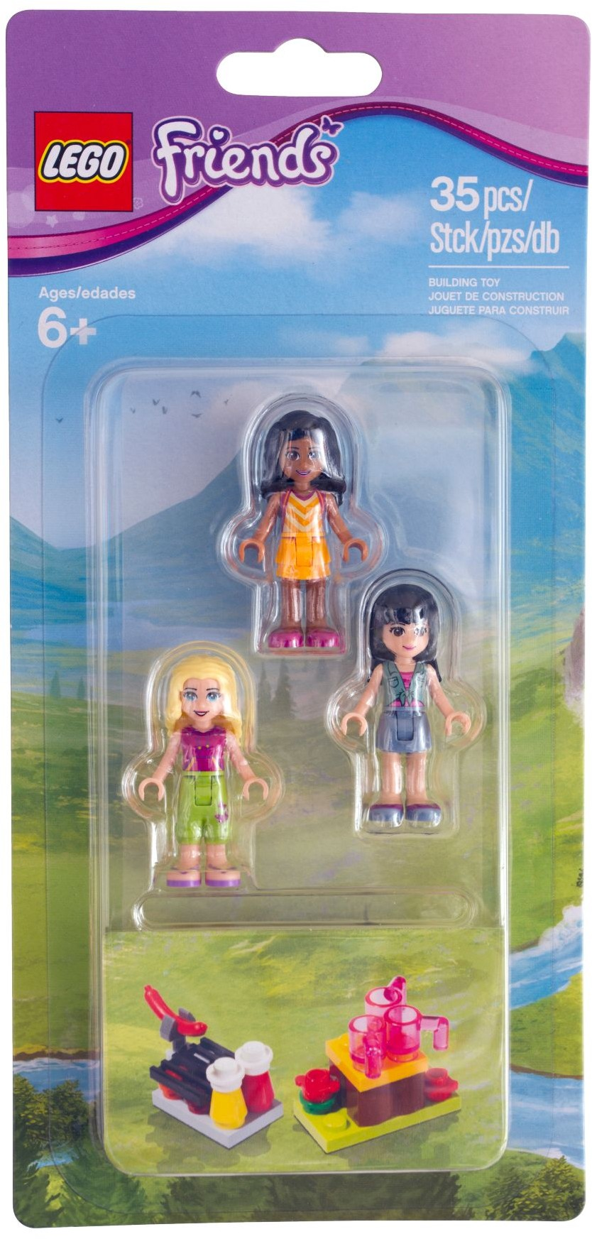 Friends Mini Doll Campsite Set 853556 Lego Friends Wiki Fandom
