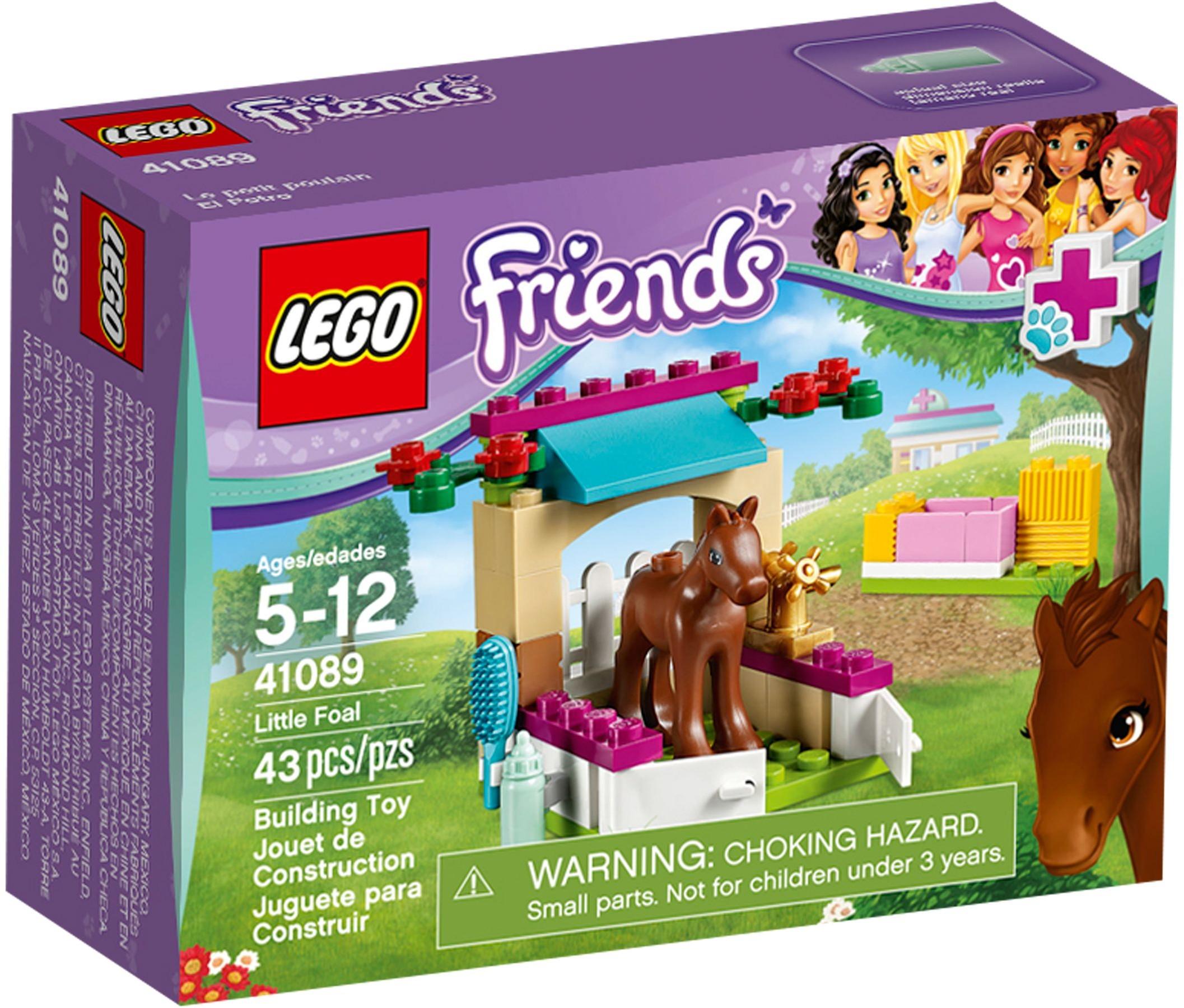 Lego Friends 41089 Little Foal Complete Set