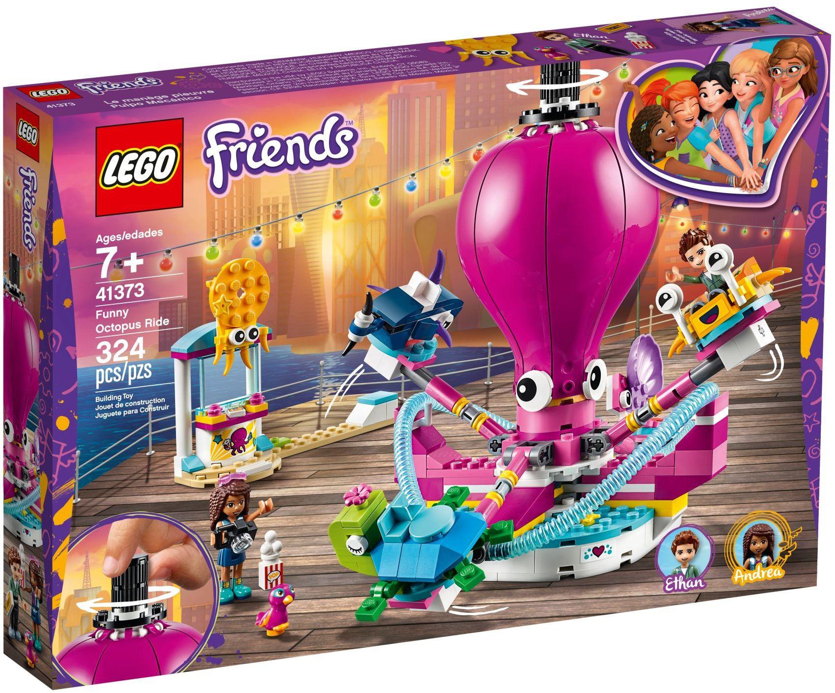 Funny Octopus Ride (41373)   LEGO Friends Wiki   Fandom