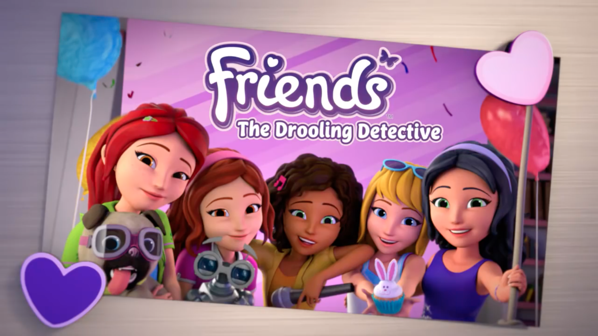 The Drooling Detective Lego Friends Wiki Fandom Powered By Wikia