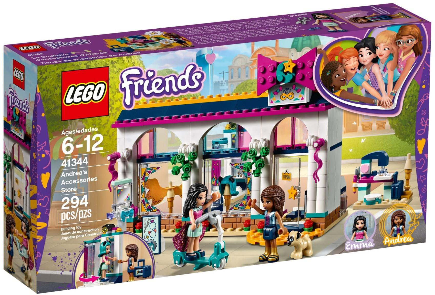 Andreas Accessories Store 41344 Lego Friends Wiki Fandom