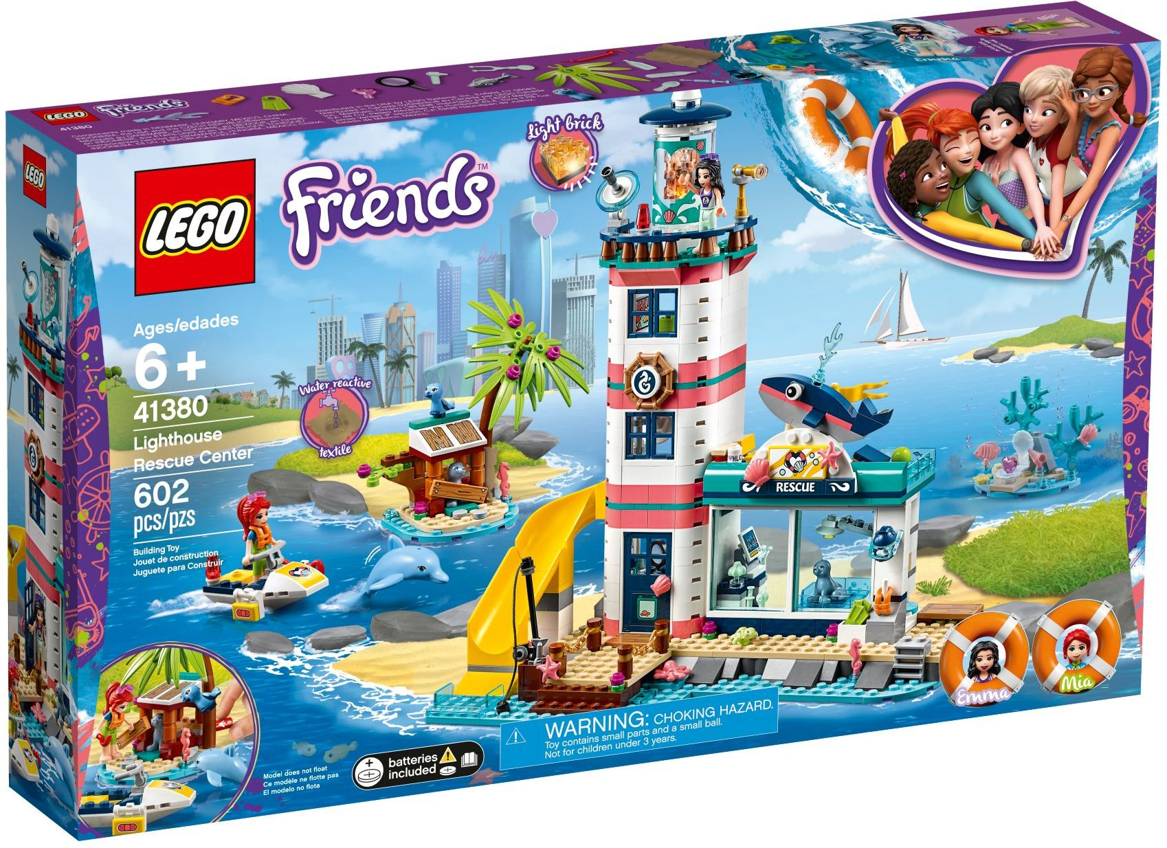 Lighthouse Rescue Center (41380) | LEGO Friends Wiki