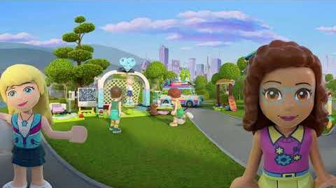 Welcome to Heartlake City – LEGO Friends – 360 interactive video
