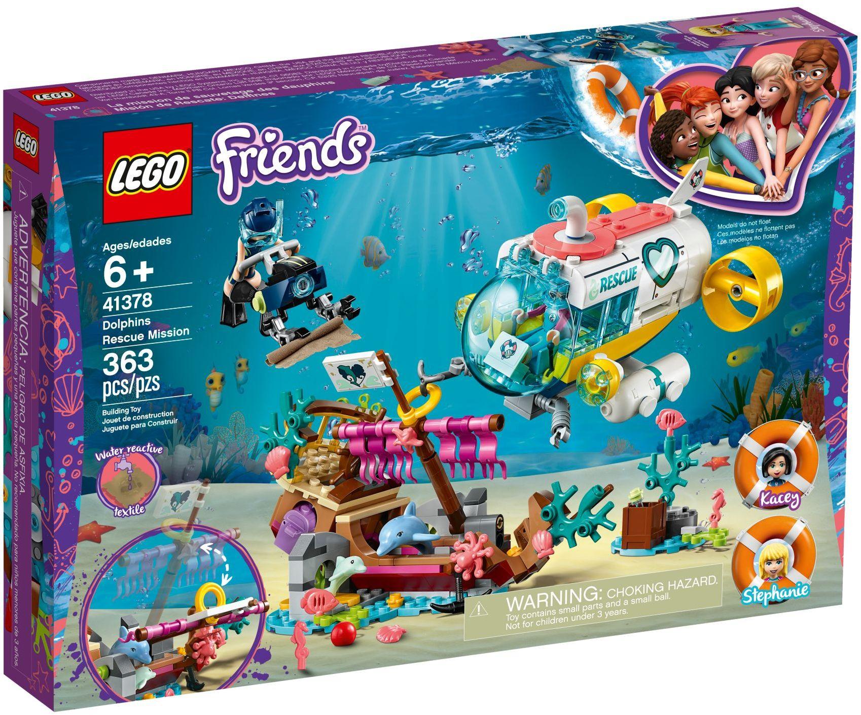 Dolphins Rescue Mission (41378)   LEGO Friends Wiki   Fandom