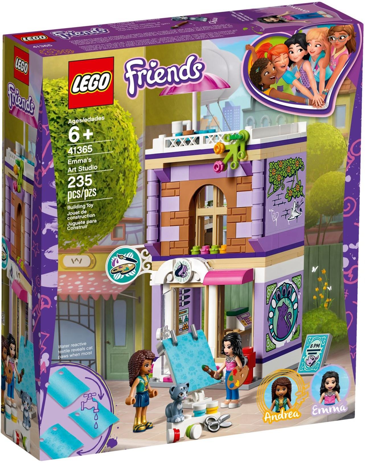 Emmas Art Studio 41365 Lego Friends Wiki Fandom Powered By Wikia