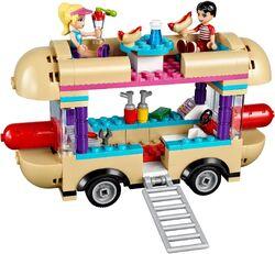 Amusement Park Hot Dog Van 2