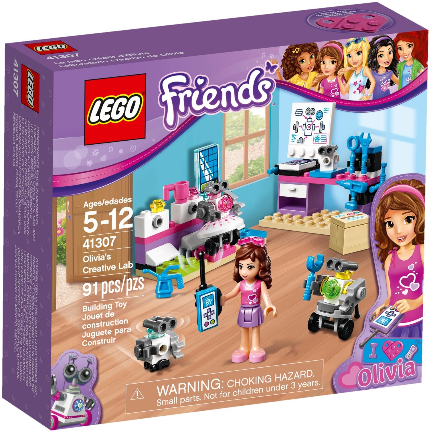 Olivias Creative Lab 41307 Lego Friends Wiki Fandom Powered