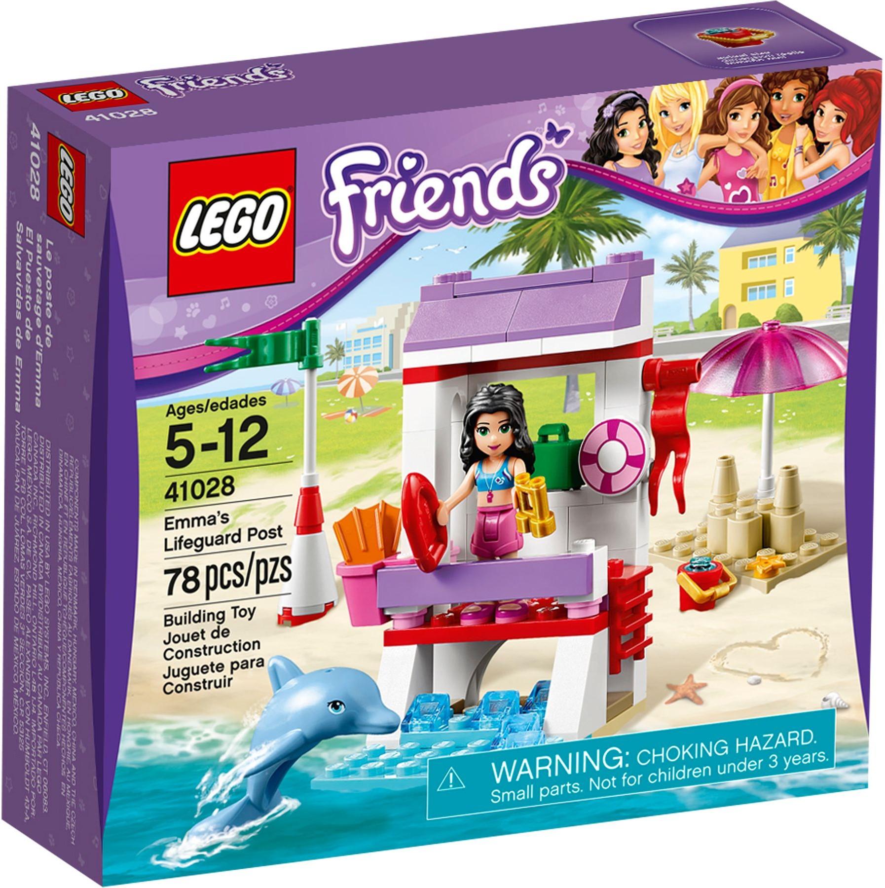 Lego Beach House Walmart: Emma's Lifeguard Post (41028)