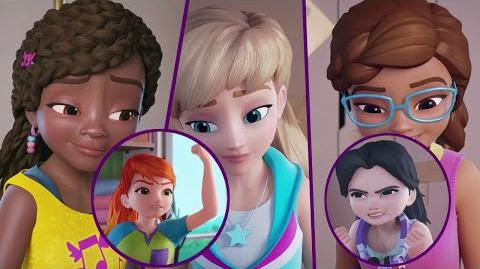 Video - Real Friends - Season 2, Episode 8 - LEGO Friends Girls on a