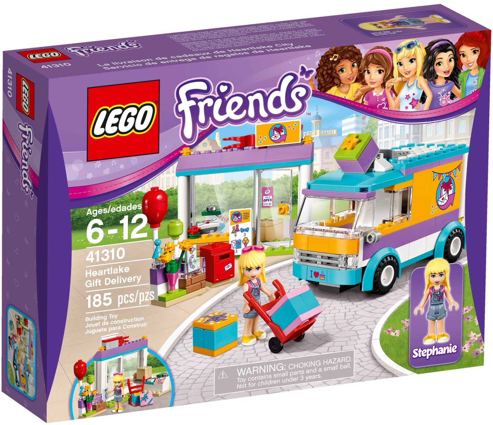 Heartlake Gift Delivery 41310 Lego Friends Wiki Fandom Powered
