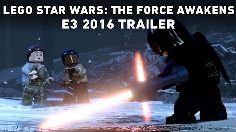 LEGO Star Wars The Force Awakens E3 2016 Trailer