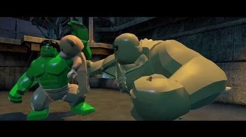 Hulk vs Abomination - Lego Marvel Super Heroes Gameplay