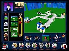 Interfaz del usuario lego creator