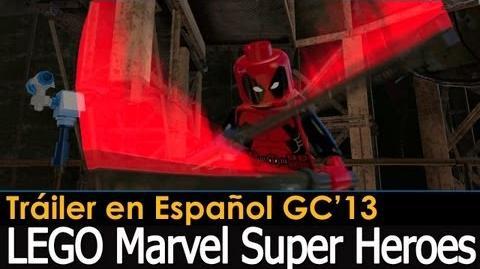 LEGO Marvel Super Heroes - Trailer en Español Gamescom 2013 (Doblado)