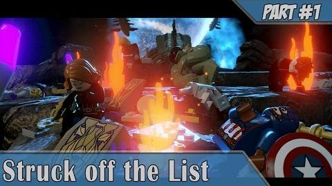 Lego Marvel Avengers -1 Walkthrough Struck off the List