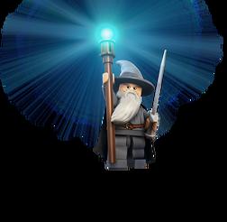 Gandalf Lego figure