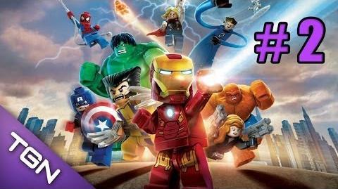LEGO Marvel Super Heroes - Capitulo 2 Laboratorio Exploratorio
