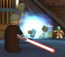Dooku vs Yoda