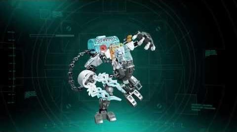 LEGO Hero Factory 44017 MASZYNA MROŻĄCA STORMERA HD
