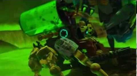 """LEGO Hero Factory - odc.11 """"Wróg z głębi ziemi"""" PL (krótsza wersja)"""