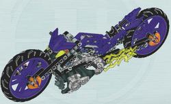 Nitrorakietowy Motocykl Set