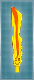 Ognisty Miecz Set