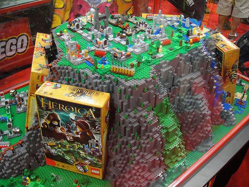 Image - San Diego Comic-Con 2011 - Lego Heroica game diorama.jpg ...