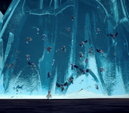 Hunters trapped in ice