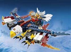 Eris' fire eagle flyer
