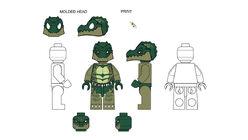 Croc AnimalDesignsCraggerFullMoldOpenEyes