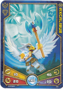 Axcalibur Weapon card
