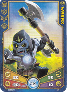 Warax Weapon card