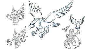 Eagle AnimalKingdomCharactersEagle