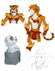 Chima sketches by steammouse-d83h270