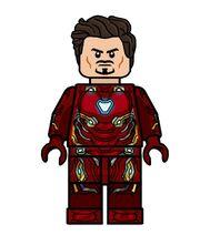 Iron man mark 50 without helmet