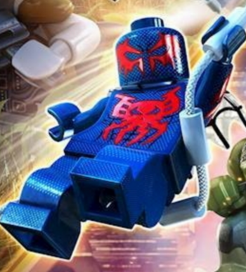Spider-Man (2099) | Lego Marvel and DC Superheroes Wiki ...