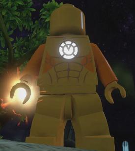LEGO Ideas - Okaara (Orange Lantern Planet)