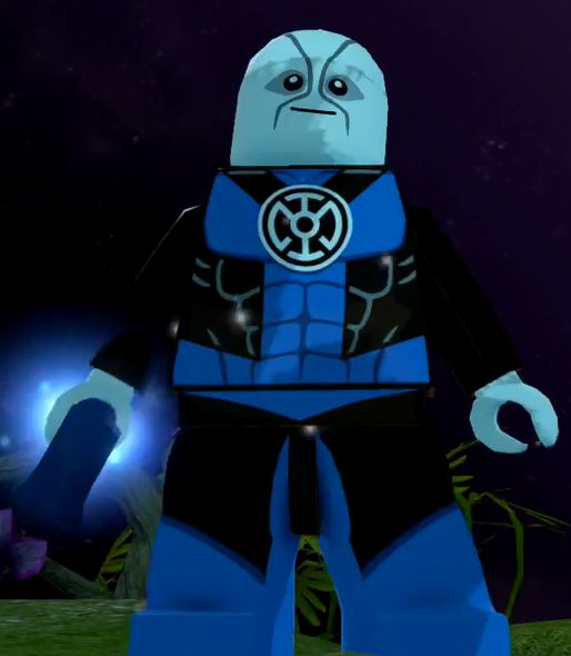 Hope Superman Blue Lantern UNOFFICIAL LEGO MINIFIG