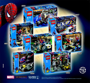 Spiderman 2 sets