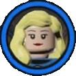 Invisible woman icon