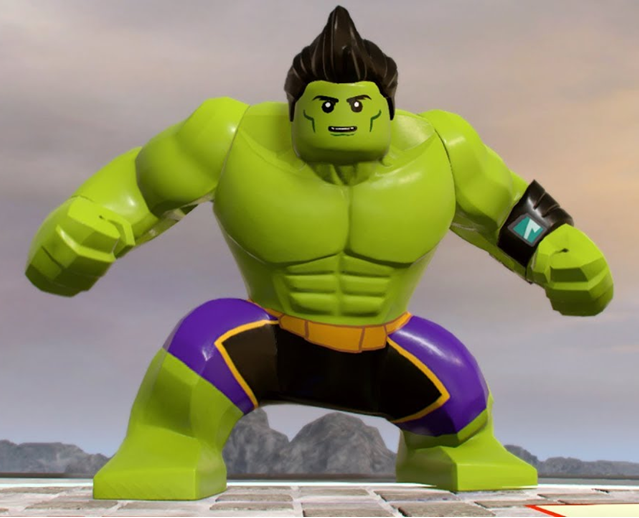 Totally Awesome Hulk | Lego Marvel and DC Superheroes Wiki